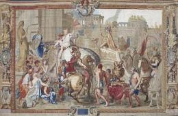 Manufactura regală şi carpeta cu pisici
