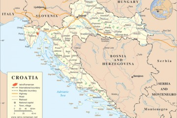 map-croatia