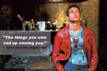 the-things-you-own-end-up-owning-you-tyler-durden-fight-club-quotes