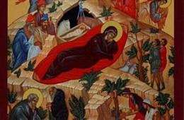 Icoana Nașterii Domnului