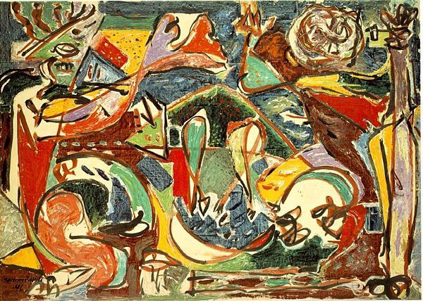 Urme conceptuale ale expresionismului abstract în hiperrealism