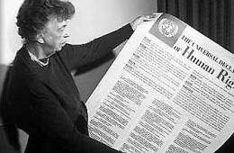 drepturile omului eleanor roosevelt