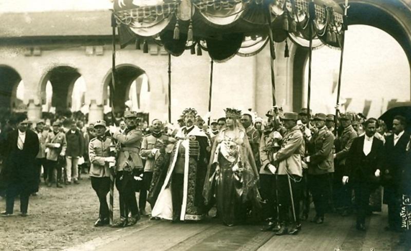 regina maria regele ferdinand incoronare