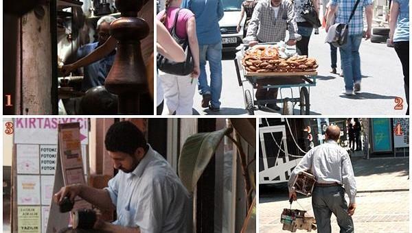 Cu ocazia unei excursii pe care am făcut-o în cadrul masteratului, am alcătuit un mic reportaj pe tema meseriilor tradiționale care mai pot fi întâlnite astăzi pe străzile Istanbulului.