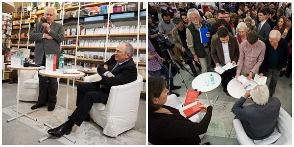 Despre monarhie, nu ca soluție, ci ca reper, s-a discutat și sâmbătă, 18 octombrie, la librăria Humanitas de la Cișmigiu. Anul ăsta este anul Lucian Boia, spunea, la început, gazda evenimentului, Gabriel Liiceanu.