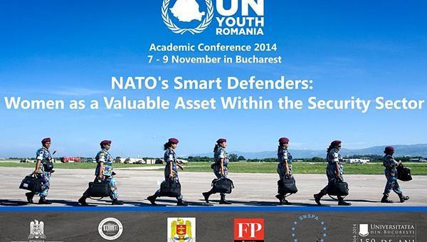 Între 7 și 9 noiembrie, A  sociația Tineretul ONU din România (UN Youth Romania) a găzduit conferința academică anuală, ce a devenit deja o tradiție pentru organizație. Subiectul acestui an a fost reprezentat de NATO și femeile din această organizație.