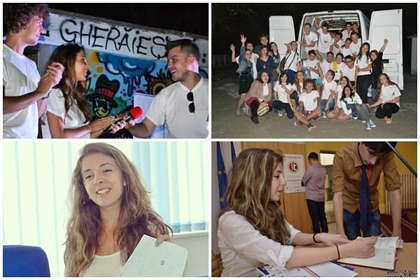 """Smaranda Camber, Voluntarul Junior al Anului 2014: """"Voluntariatul te ajută să deprinzi ceea ce nu înveți în școală"""""""