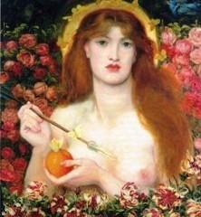 Dante Gabriel Rosetti – Venus Verticordia