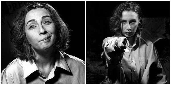 Iulia Colan a adaptat textul lui Daniel Keyes, transformându-l pe Charlie-el în Charlie-ea, și a dat naștere astfel unui monolog–poveste. E pariul pe care actrița l-a câștigat: cucerirea publicului stând pe un scaun. Iar publicul a capitulat în fața sa.
