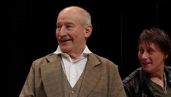 Victor Rebengiuc și Marius Manole într-un frumos dialog despre teatru ca întrupare a artei și elementele ce constituie un joc perfect, în cadrul Conferinței ArtDialog de la Institutul Cultural Român.