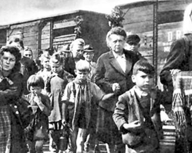 deportarea germanilor din romania