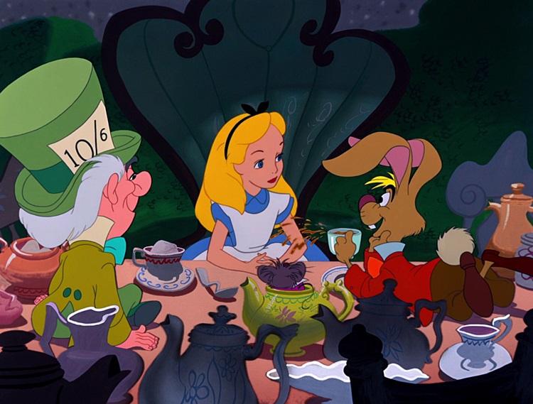 timp si durata interioara mad tea party