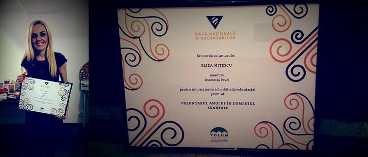 eliza nitescu gala nationala a voluntarilor