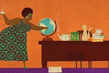 No 1 Ladies sub soarele africii
